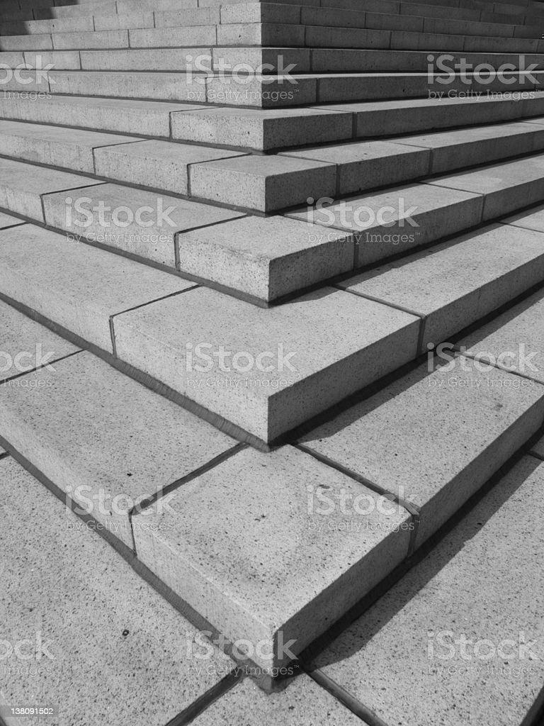 Corner Steps royalty-free stock photo