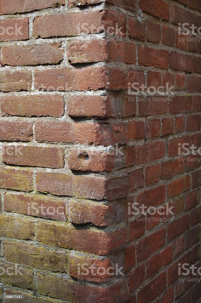 corner stone royalty-free stock photo