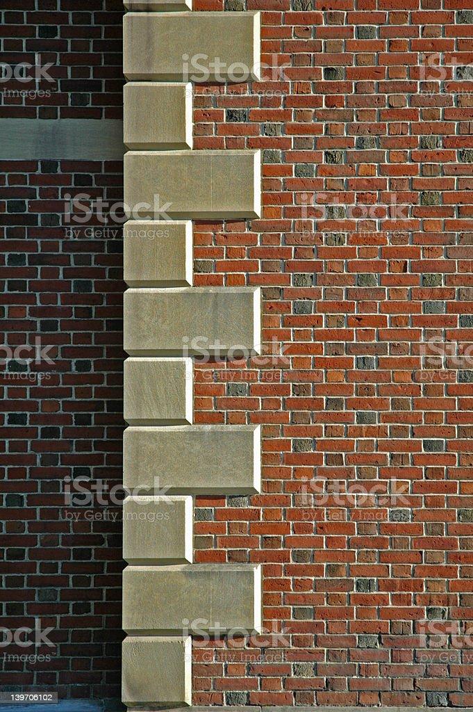 Corner Stones royalty-free stock photo