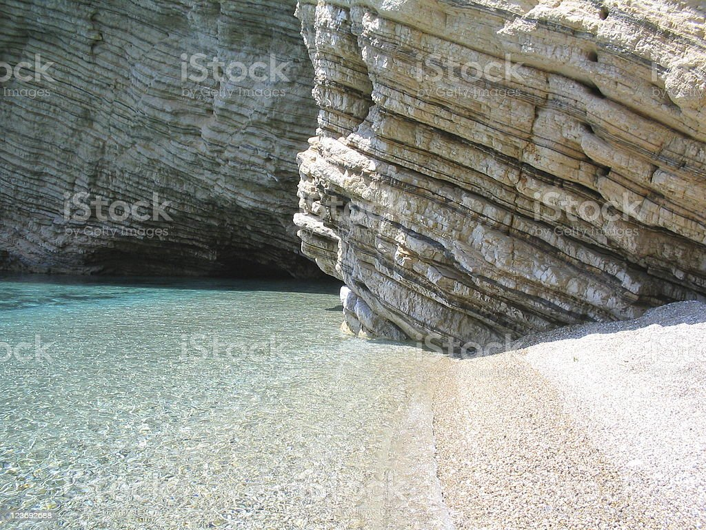 Corners of paradise, Corfu Greece royalty-free stock photo