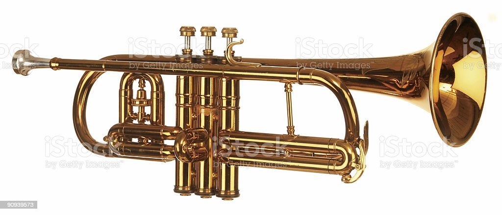 Cornet iso stock photo