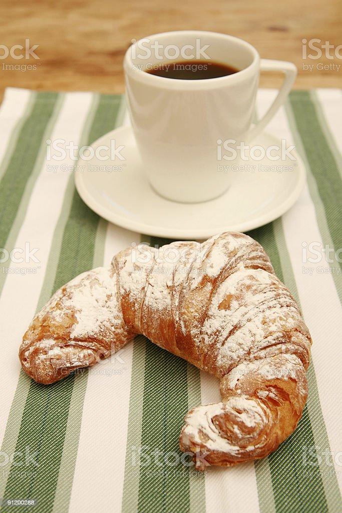 Cornetti & Coffee royalty-free stock photo