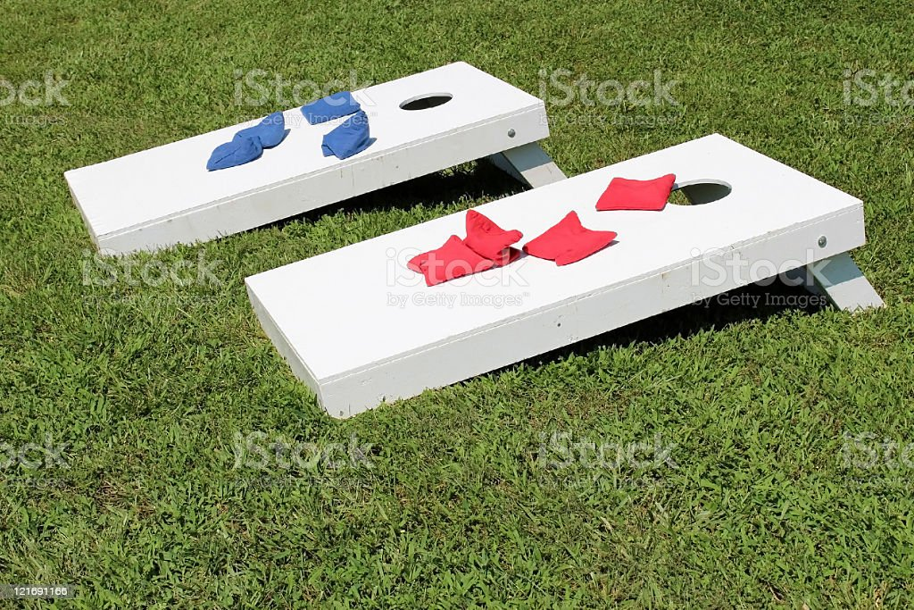 Cornhole royalty-free stock photo