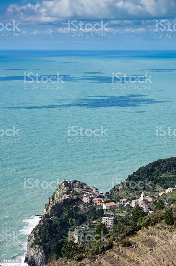Corniglia stock photo