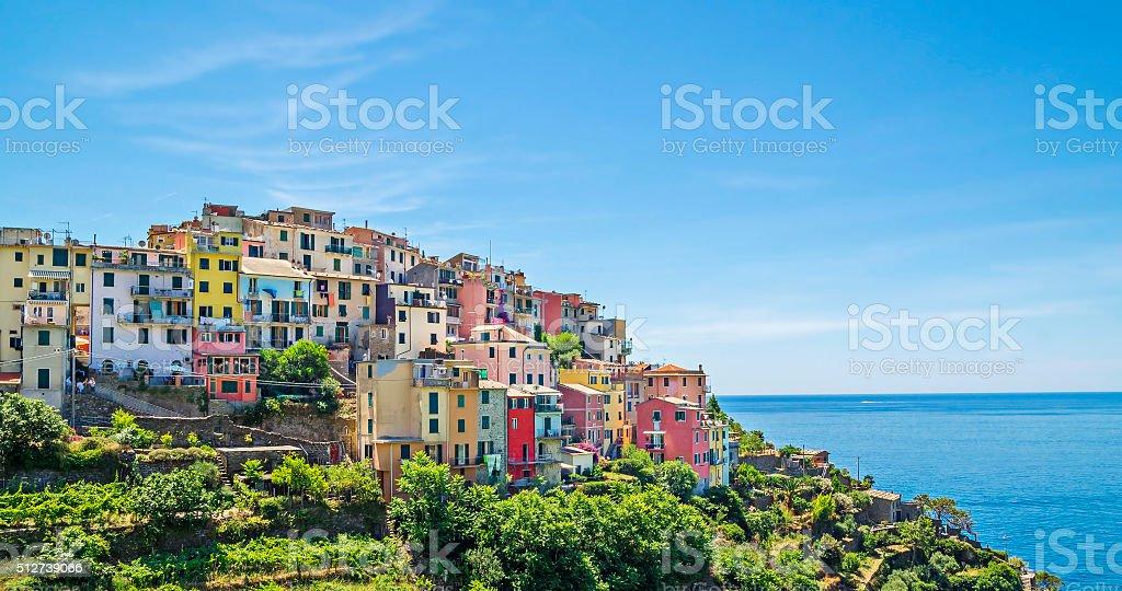 Corniglia,Cinque Terre,Italy stock photo