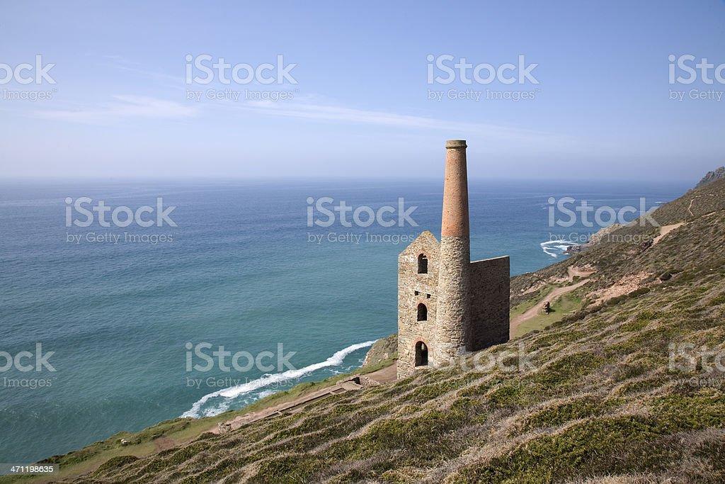 Cornish Coast royalty-free stock photo