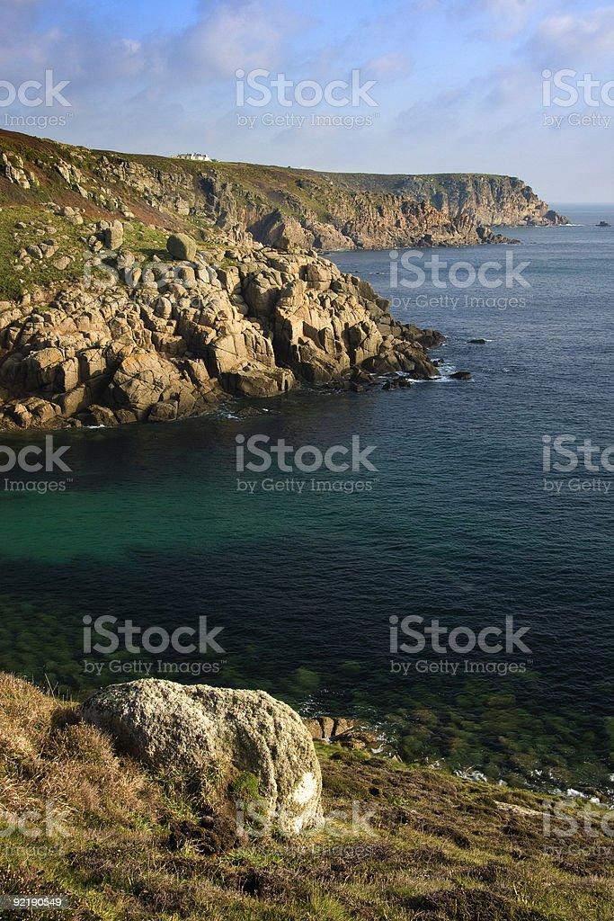 Cornish Wybrzeże zbiór zdjęć royalty-free