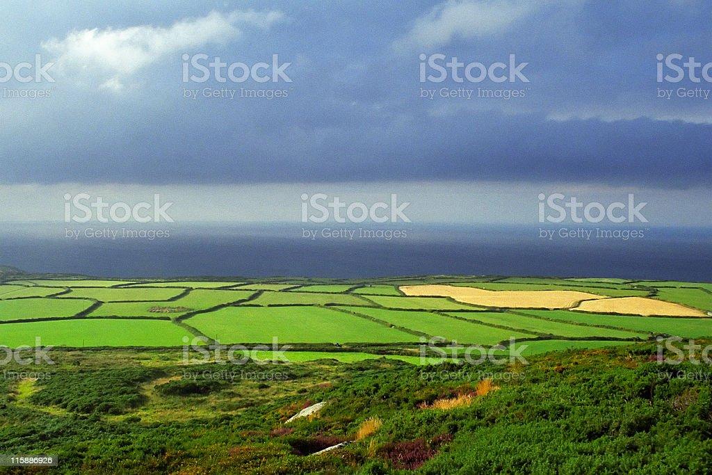 Cornish Countryside royalty-free stock photo