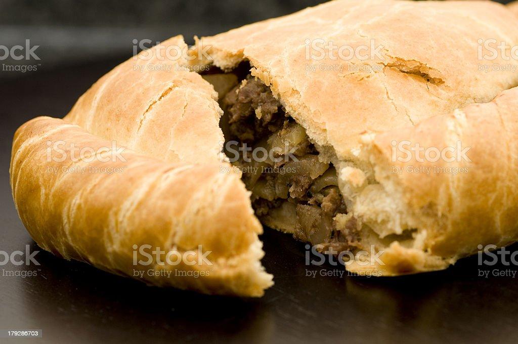 Cornish Pasty royalty-free stock photo
