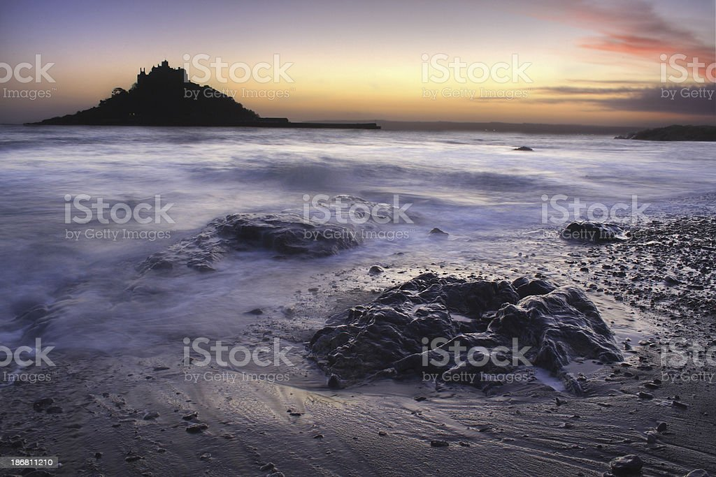 Cornish Seascape royalty-free stock photo