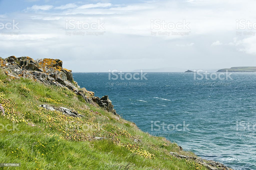 Cornish Shoreline stock photo