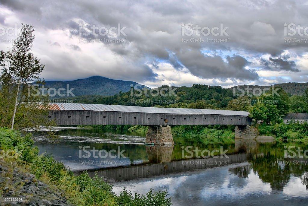 Cornish-Windsor Bridge stock photo