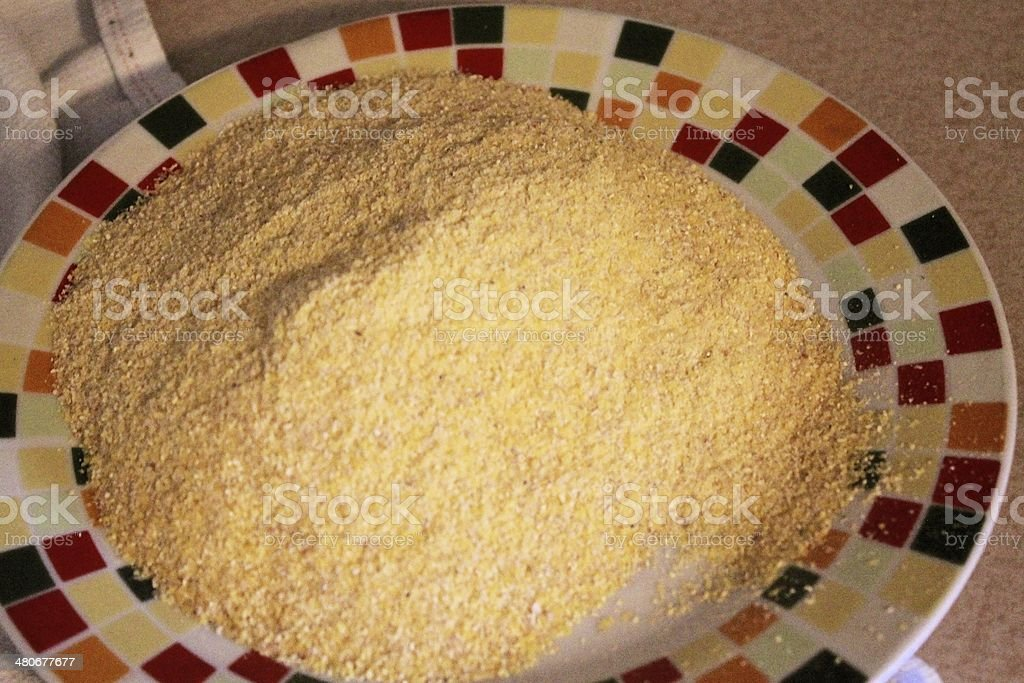 cornmeal royalty-free stock photo
