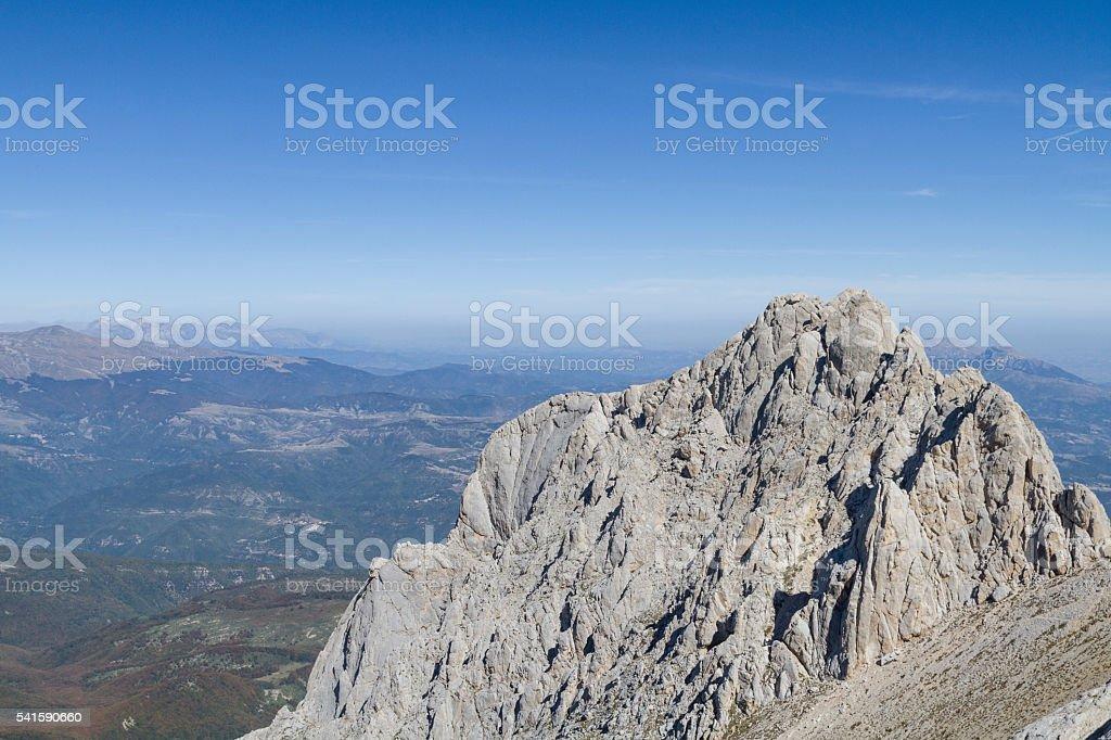Corno Piccolo stock photo