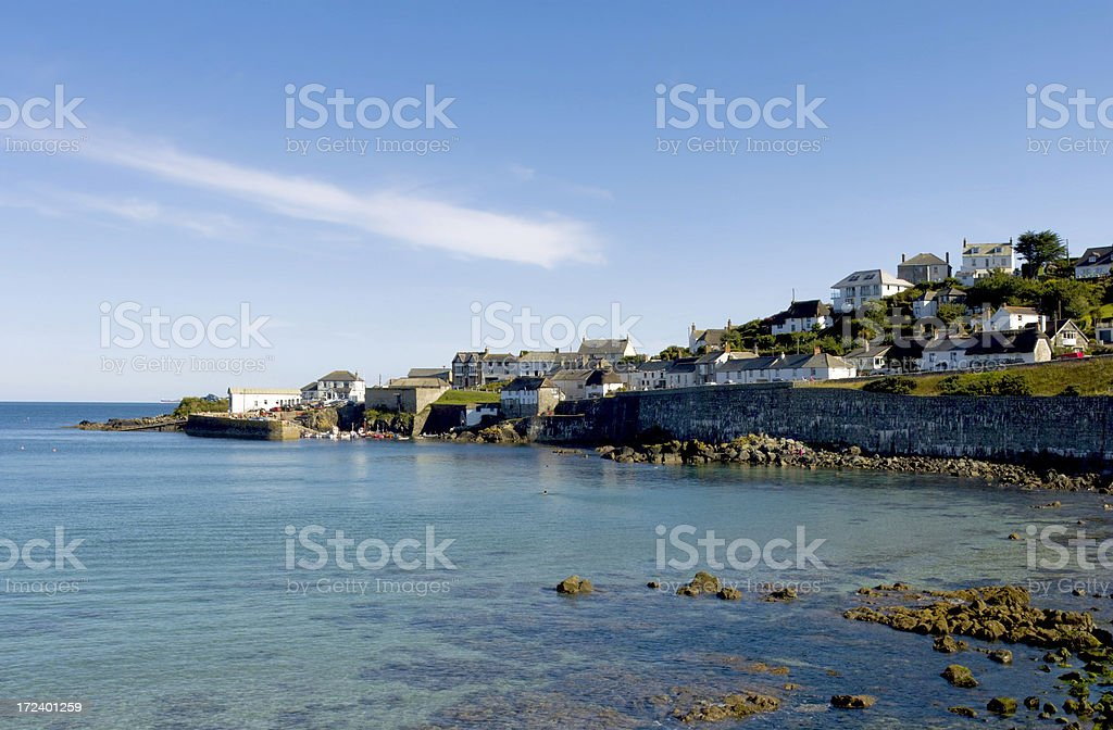 cornwall royalty-free stock photo