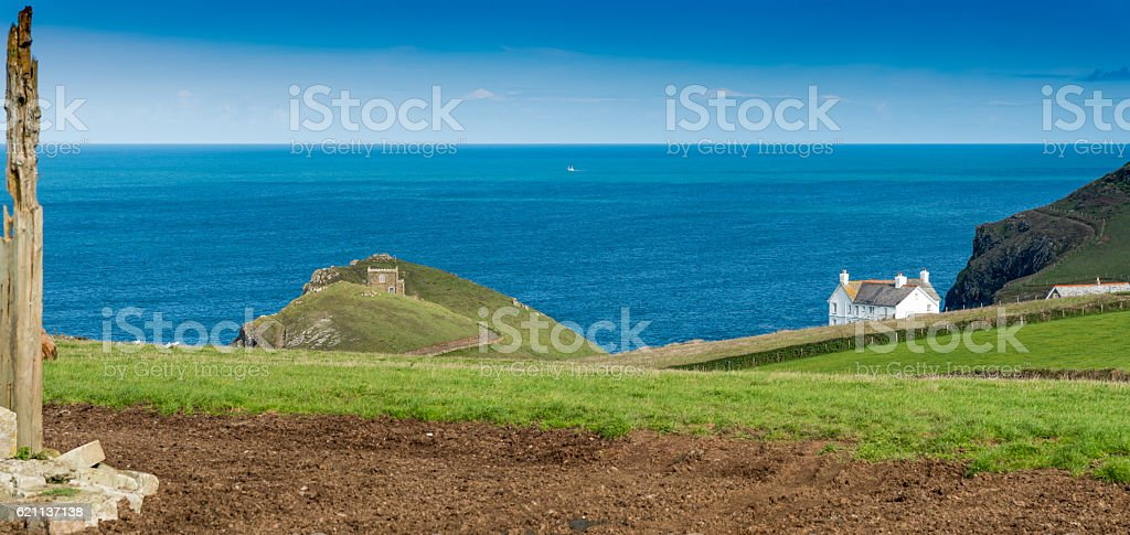 Cornwall stock photo
