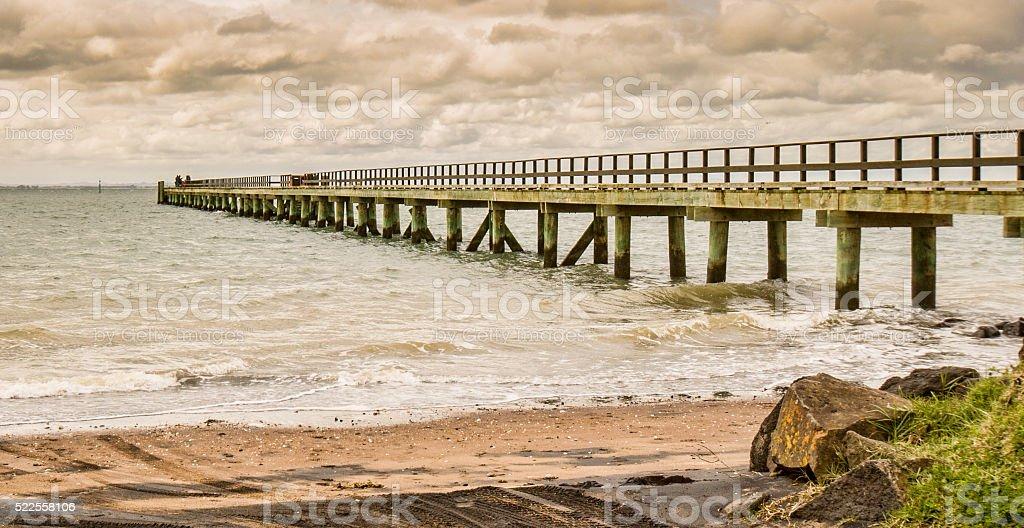 Cornwallis pier stock photo