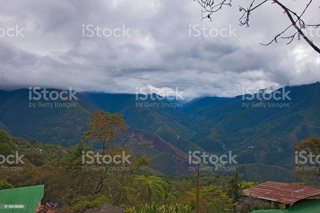 Coroico, Yungas, Bolivia stock photo