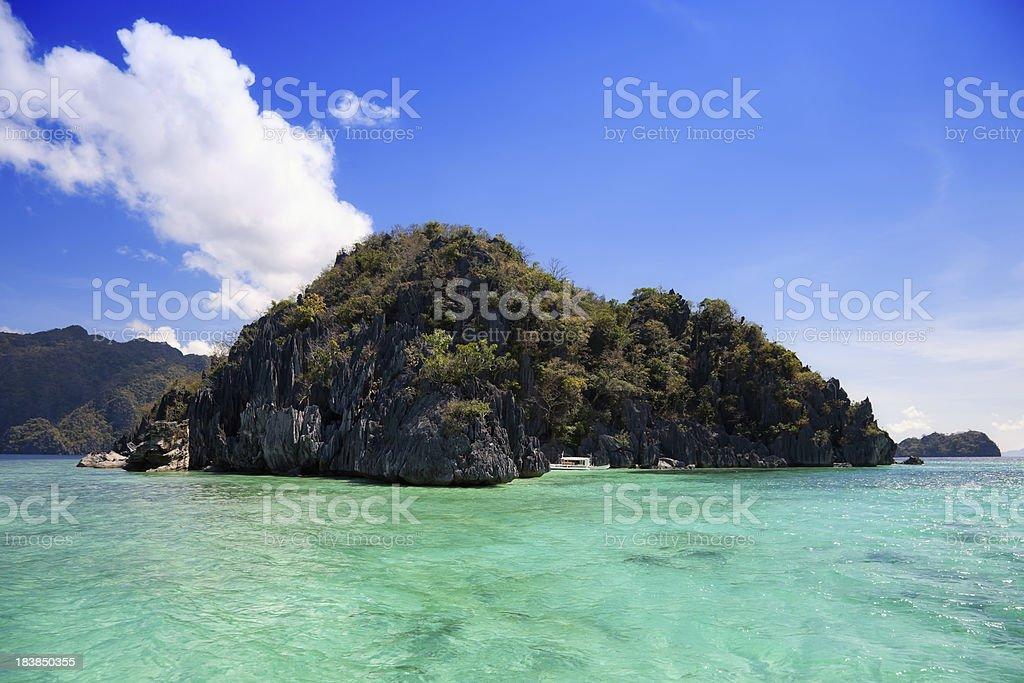 Coron island, Philippines stock photo