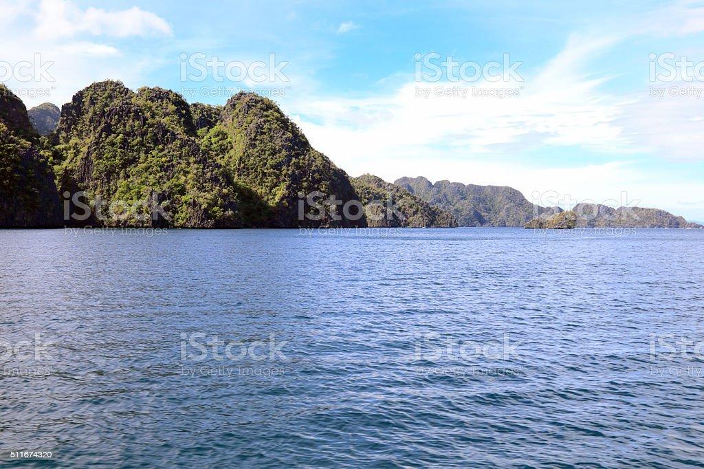 Coron Island stock photo