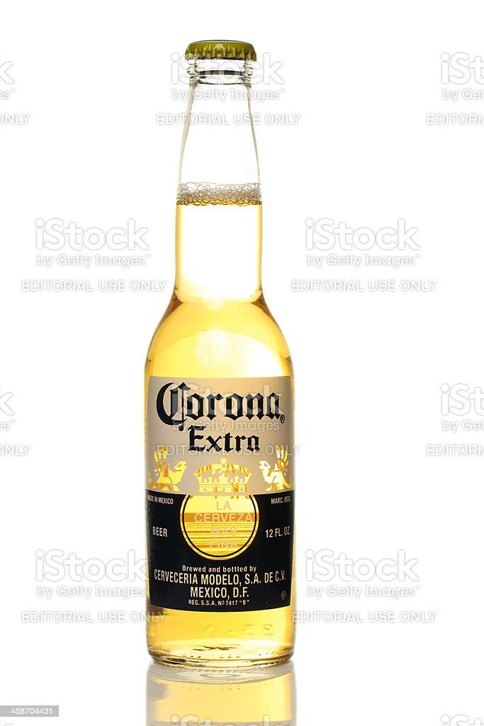 Corona Bottle stock photo