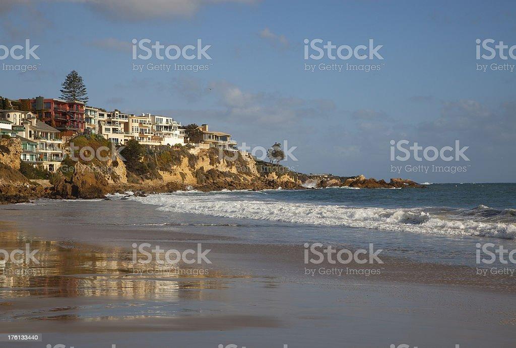 Corona Del Mar Scenic royalty-free stock photo