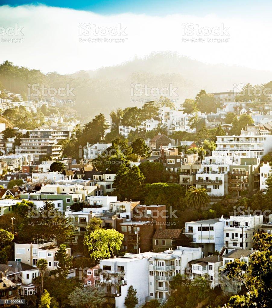 Corona heights, San Francisco stock photo