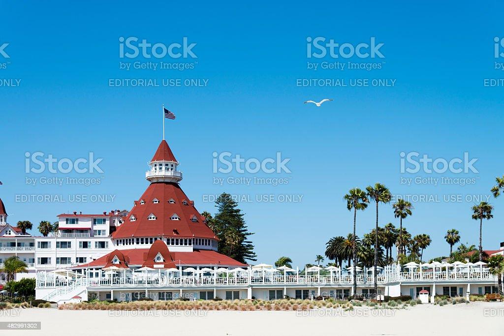 Coronado Beach San Diego stock photo