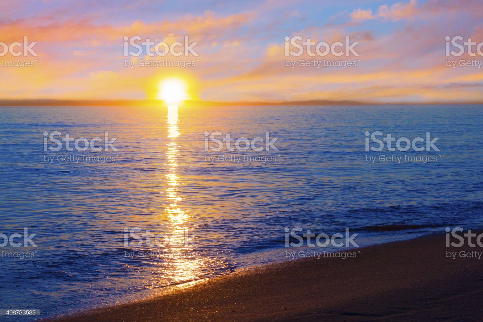 Coronado Beach, San Diego (P) royalty-free stock photo