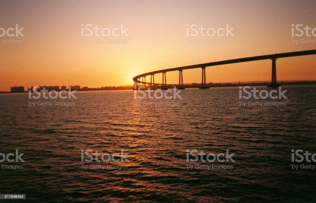 Coronado Bridge California stock photo