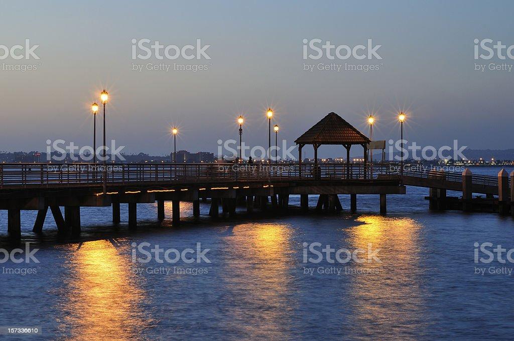 Coronado Ferry Landing stock photo