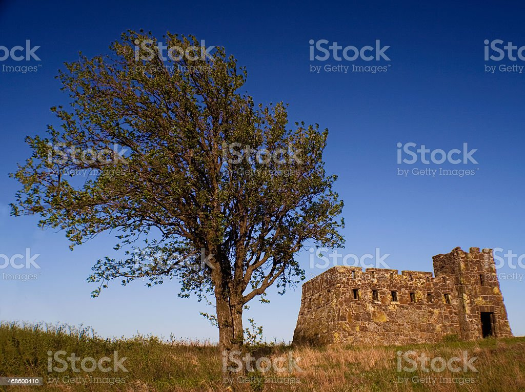 Coronado Heights - Kansas stock photo