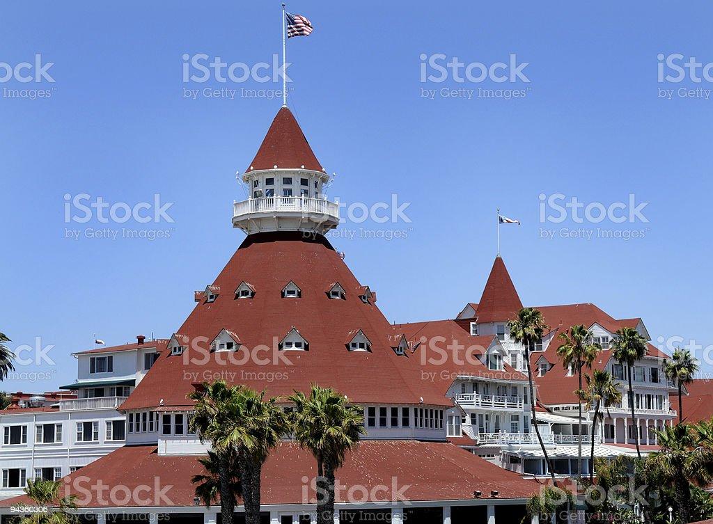 Coronado Hotel stock photo