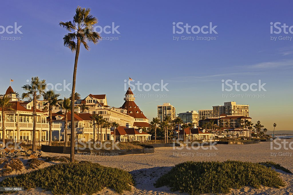 Coronado Island At San Diego, California stock photo
