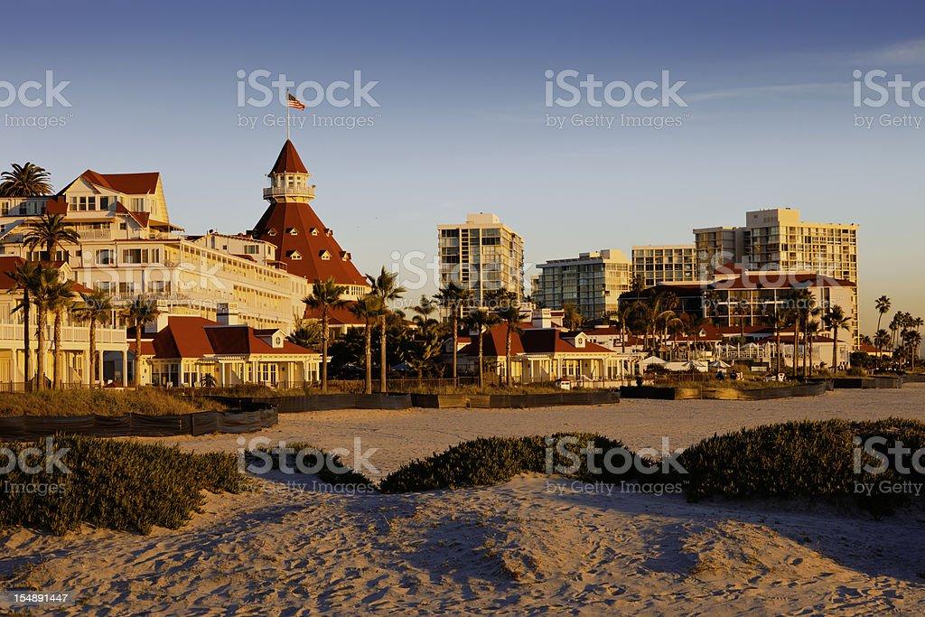 Coronado Island At San Diego stock photo