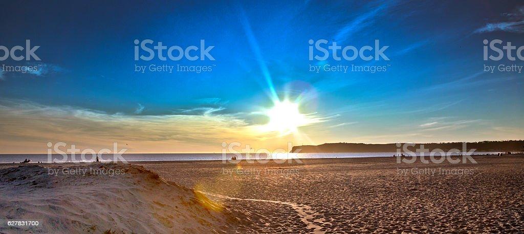 Coronado Sunset, in HDR stock photo