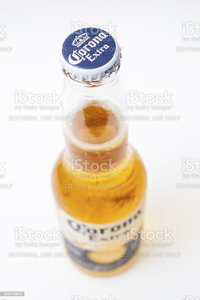 Coronar Extra beer. stock photo
