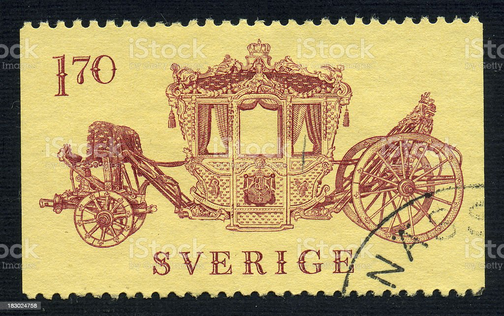 Coronation Carriage stock photo