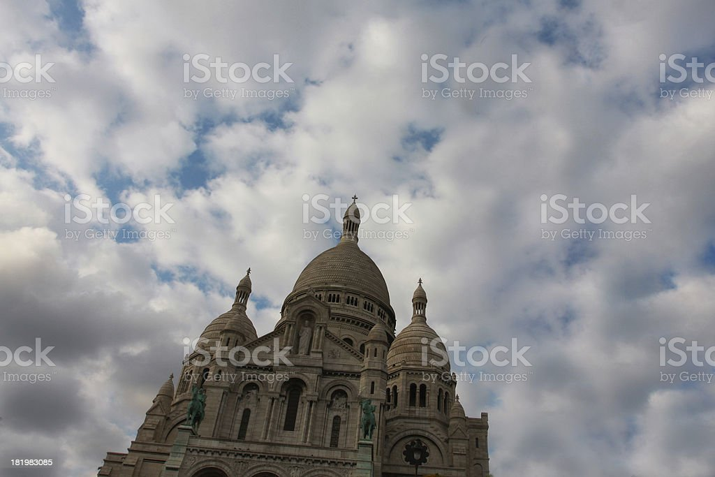 sacre coeur royalty-free stock photo