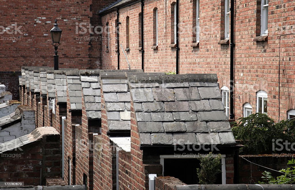 Coronation Street royalty-free stock photo
