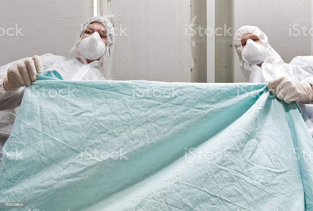 Coroners royalty-free stock photo