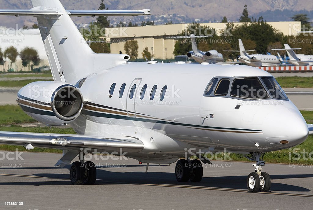 Corporate Air Travel royalty-free stock photo