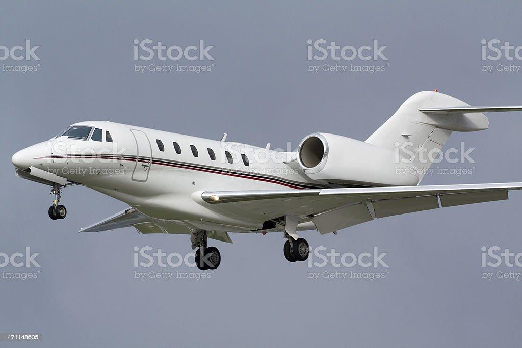 Corporate Air Travel stock photo