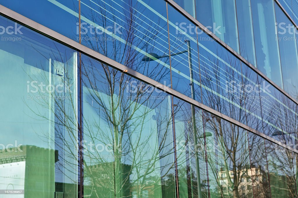 Corporate Building glass facade royalty-free stock photo