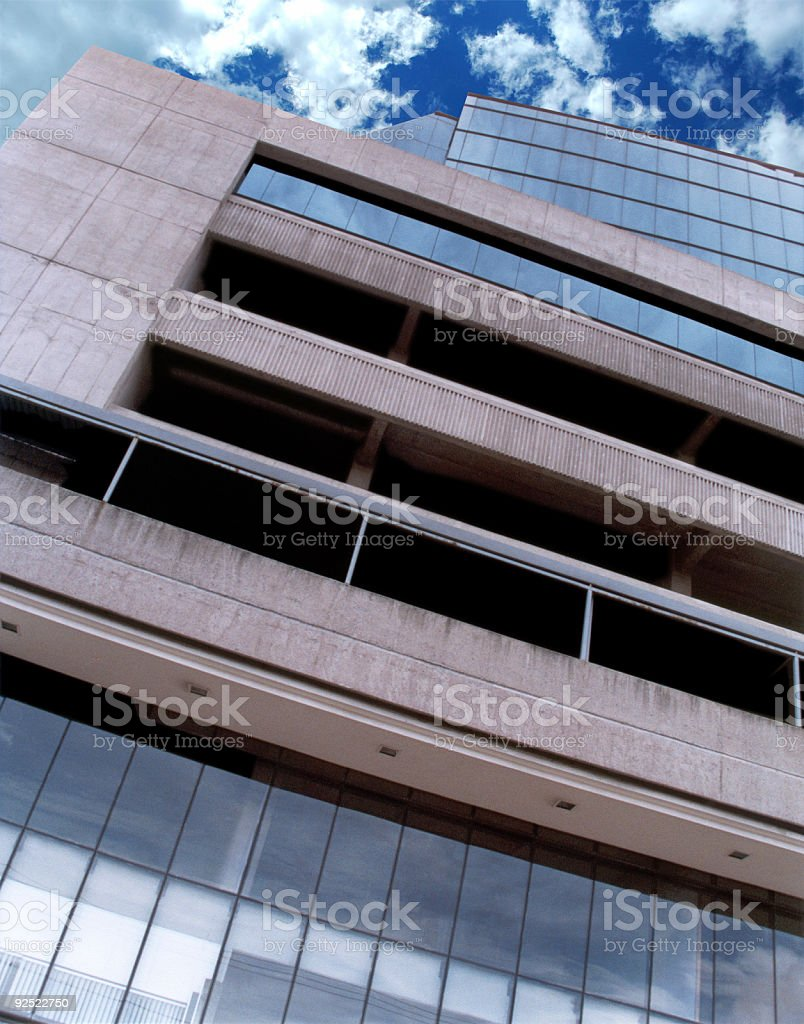 Corporate building in Costa Rica royalty-free stock photo