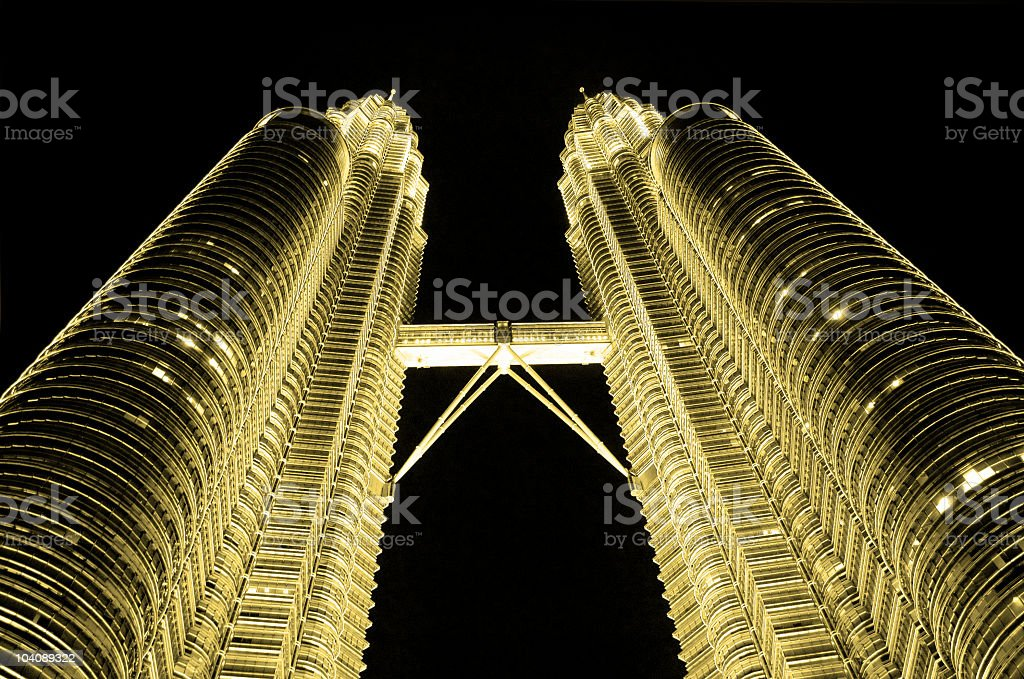 corporate building night view royalty-free stock photo