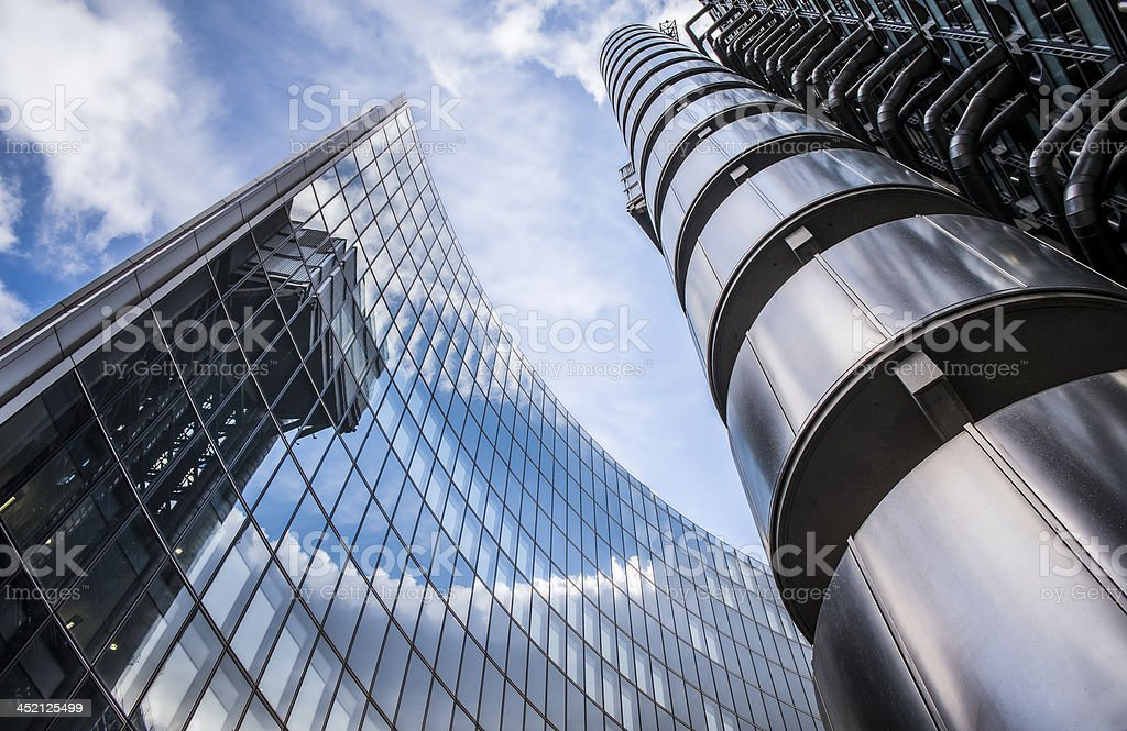 Corporate Building stock photo