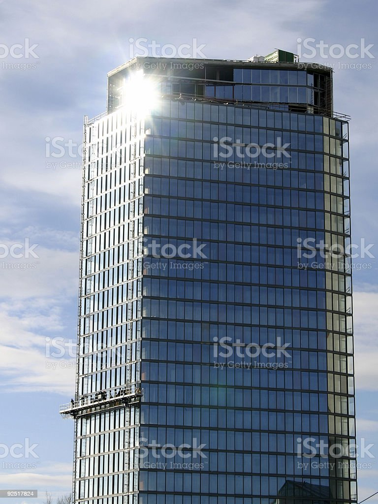 Corporate building VII royalty-free stock photo
