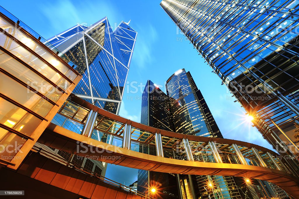 Corporate Buildings stock photo