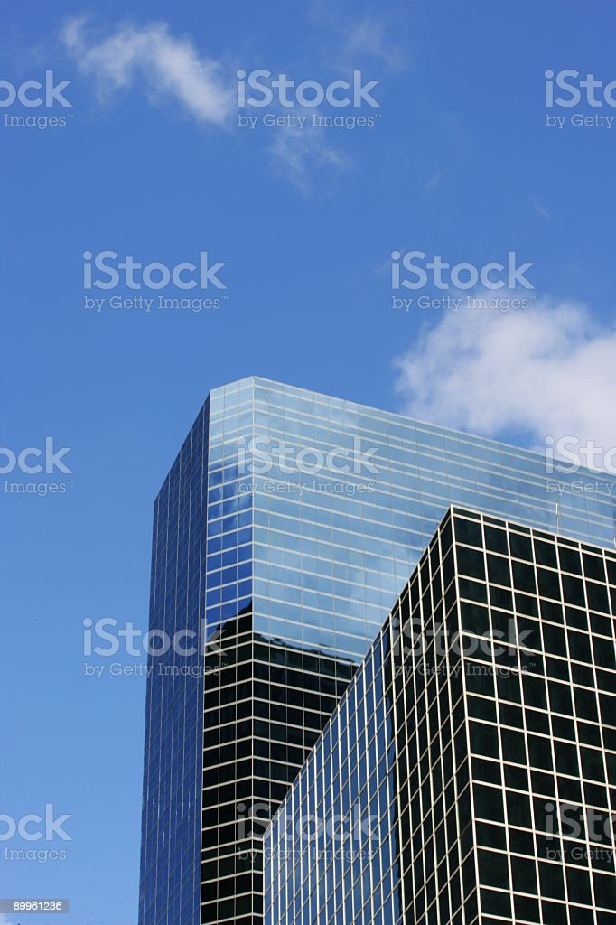 Corporate buildings. royalty-free stock photo
